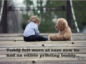 Edible Printing caption