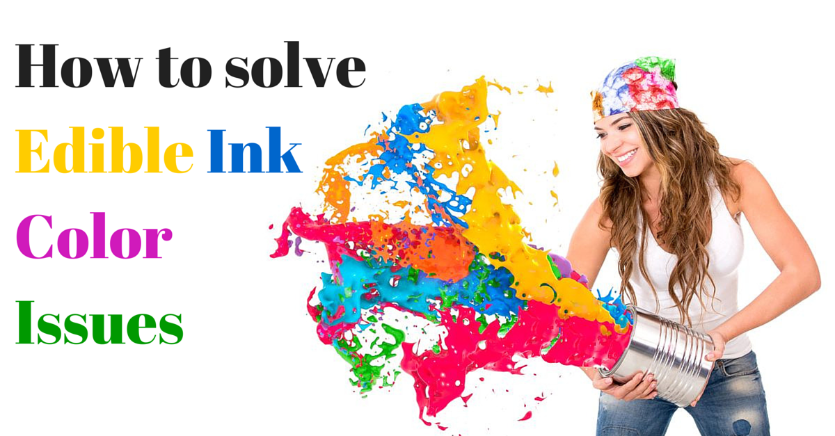 How to solve your Edible Ink issues - Topperoo Blog
