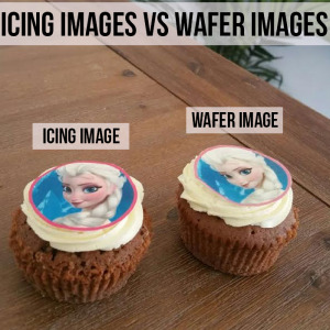 Wafer Paper or Icing Sheets - examples