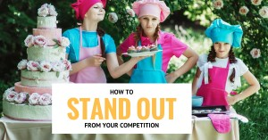 how to stand out from baking competition