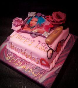 Nicki Minaj cake by sCrumbtious Kakes