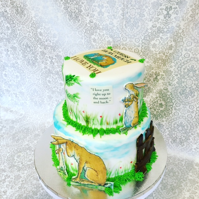 Nutbrown Hare Edible Image