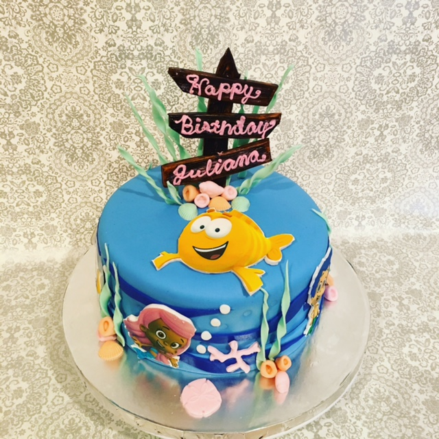 Edible Images used for a child's cake