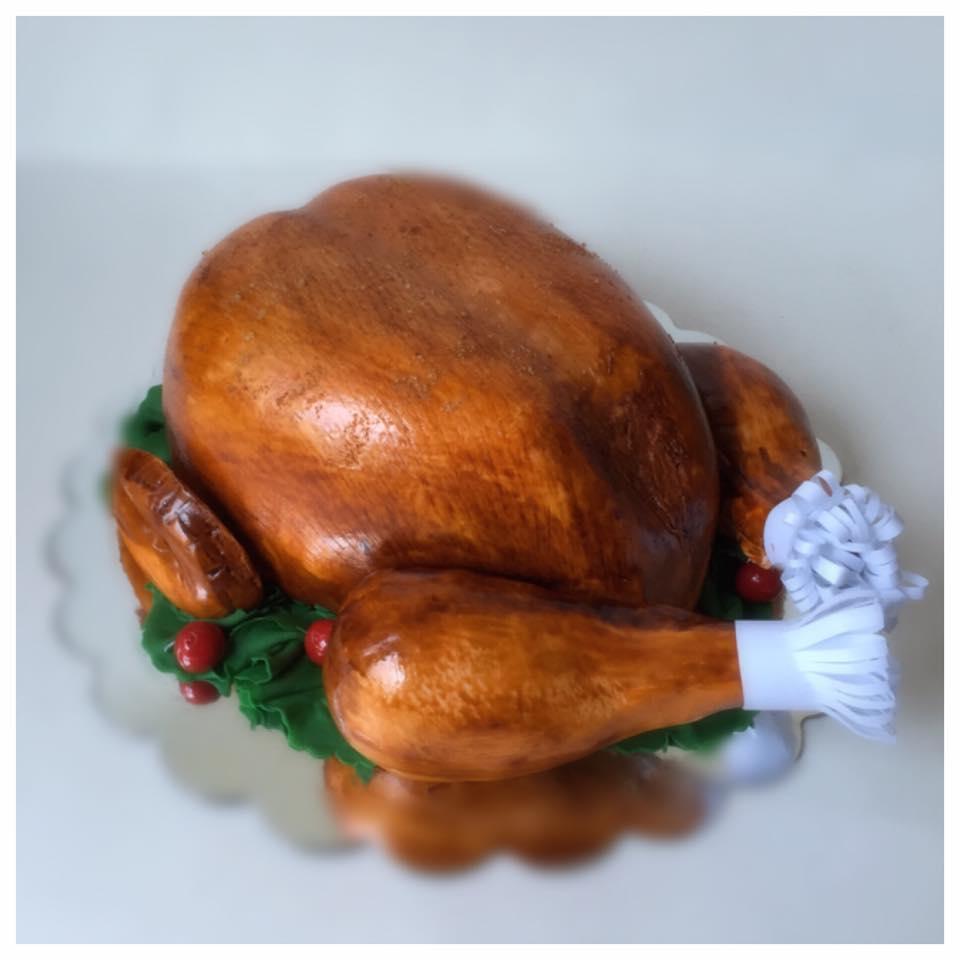 turkey-cake
