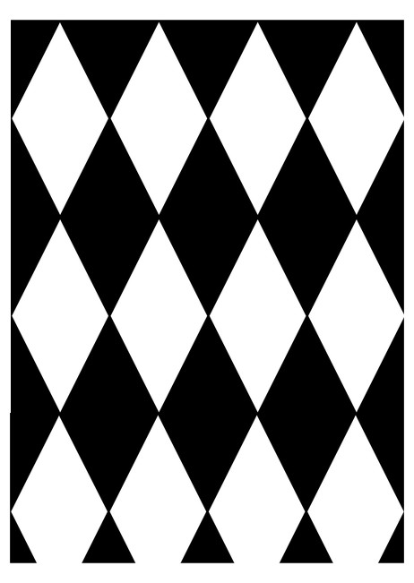Checkered Diamond Pattern Edible Image Software